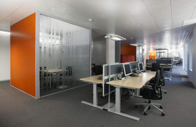 Siemens office in Moscow