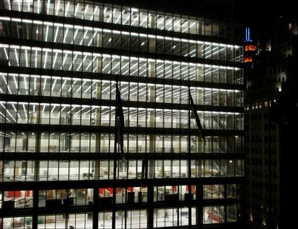 Штаб-квартира «Нью-Йорк Таймс». Фото в процессе строительства