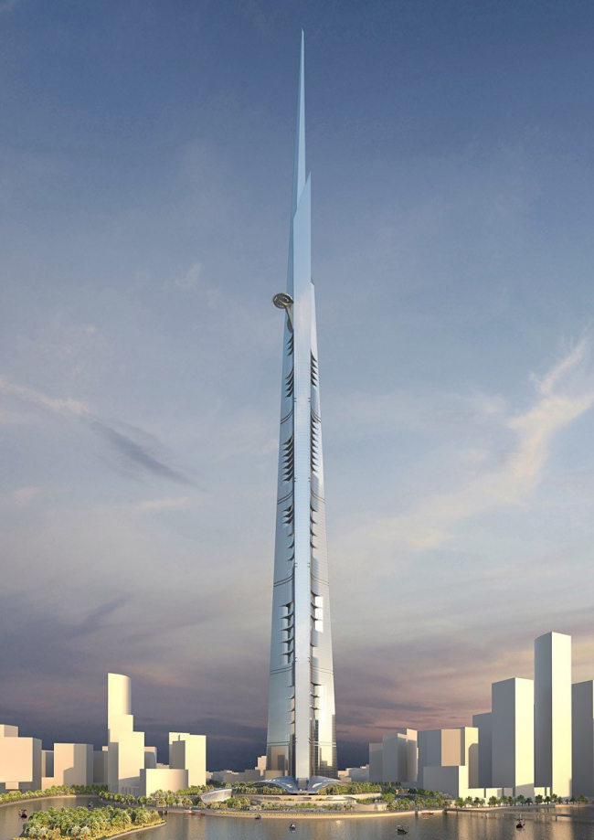 Башня Kingdom Tower © Adrian Smith + Gordon Gill Architecture