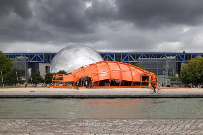 Павильон La Ville Intelligente © Jakob+MacFarlane - Nicolas Borel