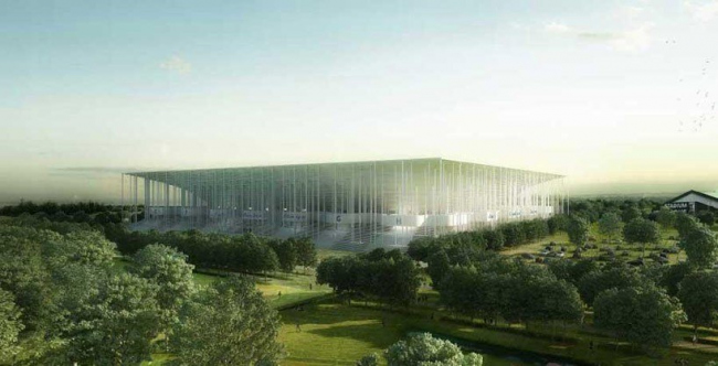 Большой стадион Бордо © Herzog & de Meuron