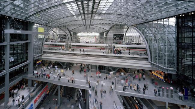 Центральный вокзал Берлина © gmp-architekten.de