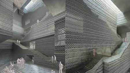Музей современного искусства в Калькутте © Herzog & de Meuron
