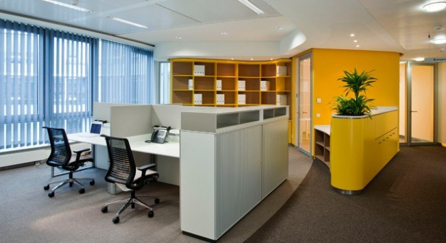 Мебель серии T-plattform, KB boxes.  Фотография предоставлена компанией BENE