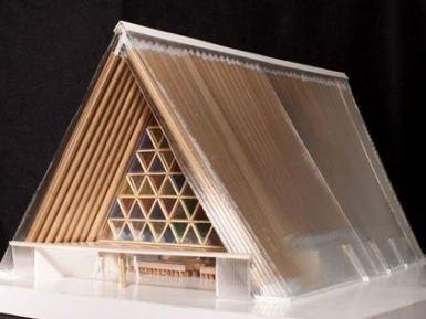 Картонный собор в Крайстчерче © Shigeru Ban Architects