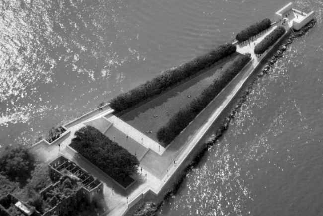 Луис Кан. Мемориал президента Рузвельта на острове Рузвельта в Нью-Йорке
