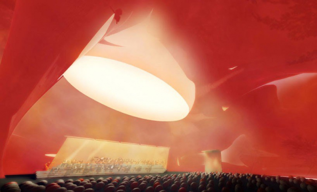 Концертный зал Ark Nova © Ark Nova