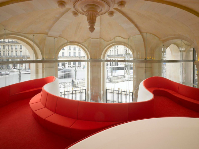 Ресторан Phantom в «Гранд-Опера» © Roland Halbe