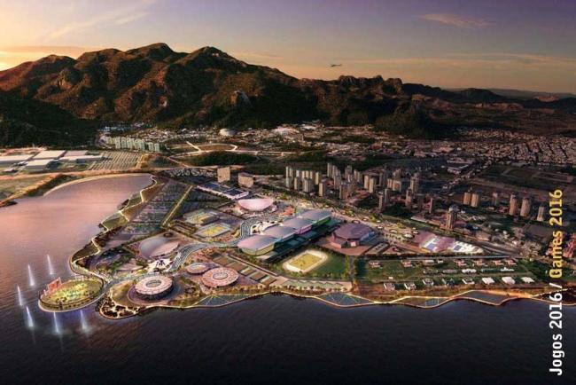 Олимпийский парк Рио 2016 © Brazilian Institute of Architects