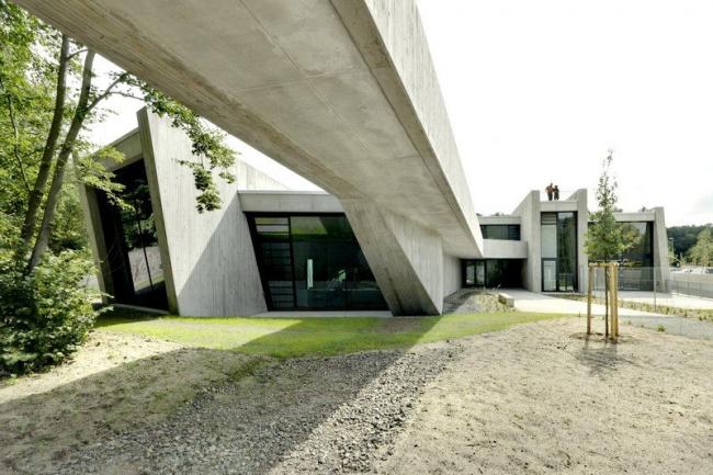 Посетительский центр карьера Мессель © landau + kindelbacher / Jan Bitter