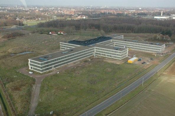 Больница AZ Groeninge © Baumschlager Eberle