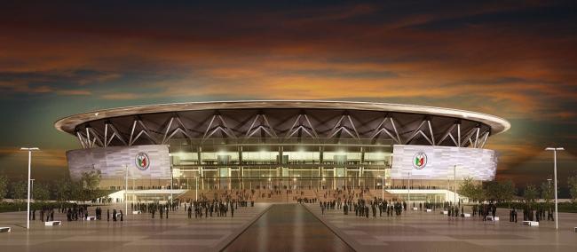 Стадион Philippine Arena © Populous