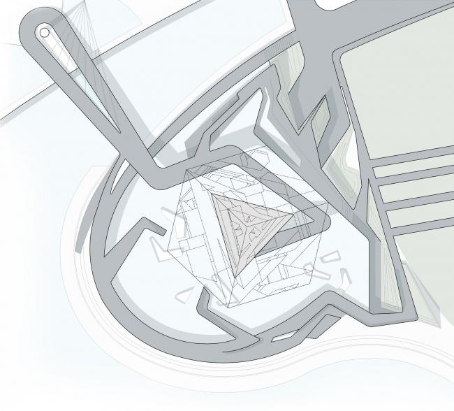 Оперный театр (конкурсный проект) © Архитектурное бюро «Тотемент/Пейпер»