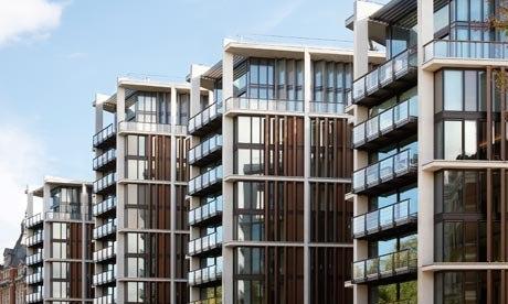 Ричард Роджерс. Жилой комплекс One Hyde Park в Лондоне. Фото с сайта guardian.co.uk