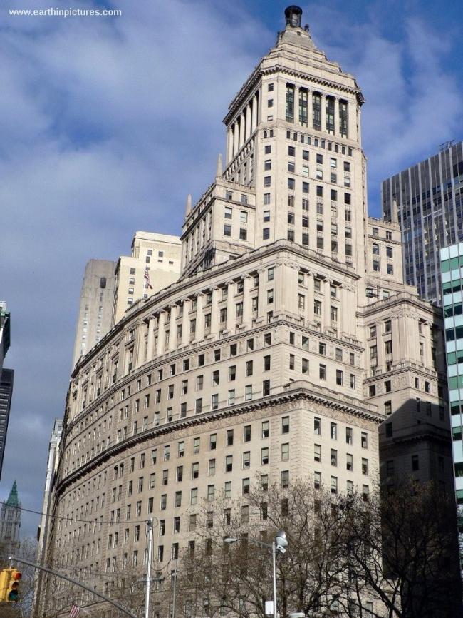 Небоскреб Standard Oil Building в Нью-Йорке. Фото с сайта earthinpictures.com