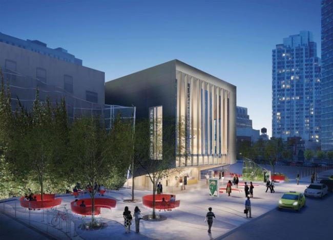 «Театр для новых зрителей». Окончательный вариант проекта © H3 Hardy Collaboration Architecture