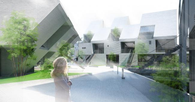 Концептуальный проект «ИГРА», разработанный для конкурса «Город кварталов» в 2010 г. Архитекторы: Александр и Наталия Прошкины