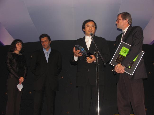Главный победтель Present of Future - Сатоши Окада