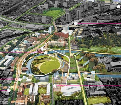 Центральный Сэлфорд. Проект