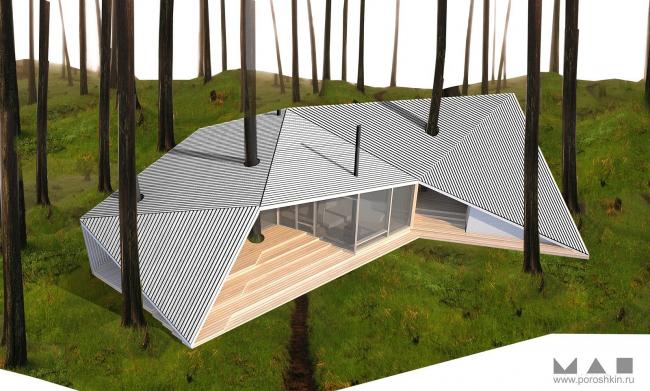 Загородный дом «Оригами»