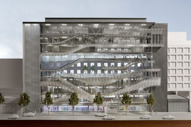 Новый корпус Технологического института моды