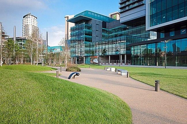 «Медиа-Сити» для BBC. Фото с сайта http://archinect.com/