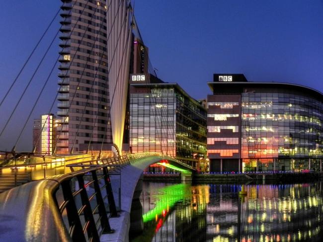 «Медиа-Сити» для BBC. Фото: David Dixon via Geograph. Лицензия CC BY-SA 2.0