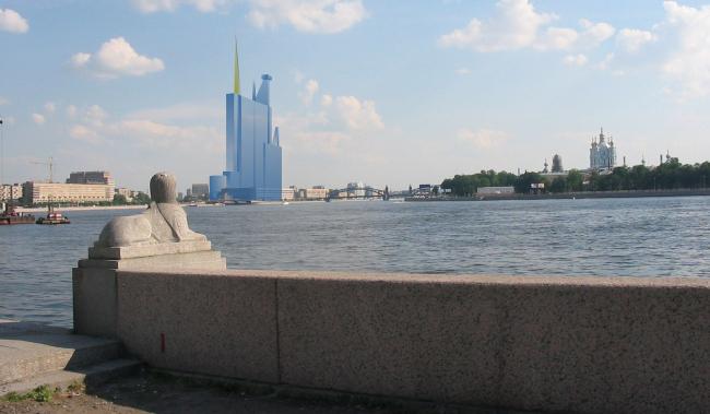 Проект Жана Нувеля в ландшафте Петербурга