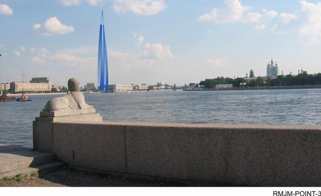 Проект RMJM в ландшафте Петербурга