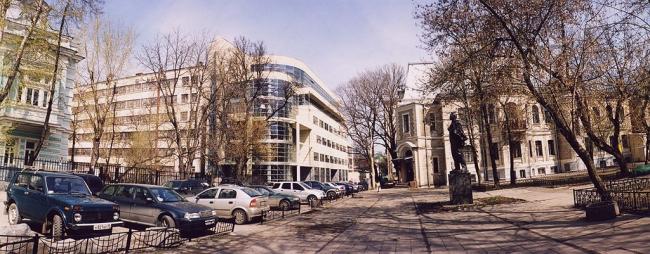 Административное здание «Георг Плаза» © Александров и партнеры