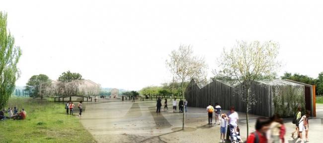 Павильоны Парка берегов Сены © AWP-HHF, Sbda