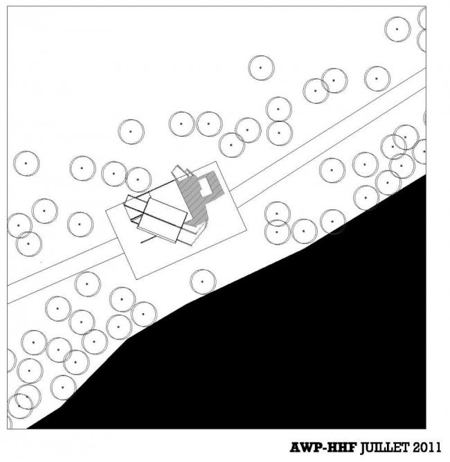 Павильоны Парка берегов Сены. Смотровая платформа © AWP-HHF, Sbda