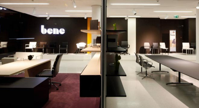 Мебель Bene, переговорный стол и  кресла серии Wilkhahn Filo