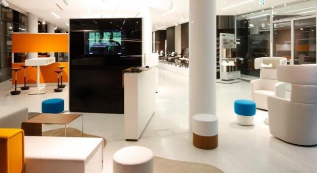 Мебель серии Parcs -  WIng Sofa, Wing Chair, Pop-Up Table, Idea Wall, Pop-Up Stool