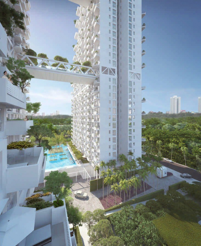 Жилой комплекс Bishan Central © Safdie Architects