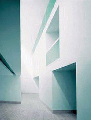 Культурный центр в Синесе. По проекту Aires Mateus внутренние пространства сформированы монолитными бетонными структурами