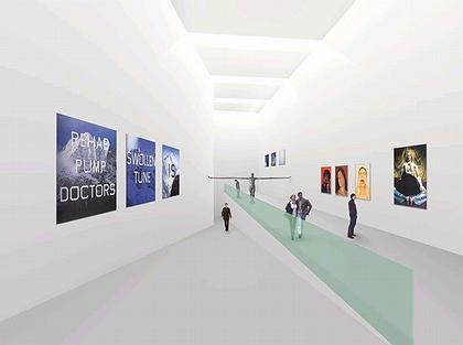 Культурный центр в Синесе. Белизна интерьеров Центра помогает избежать клаустрофобии даже в поземной части
