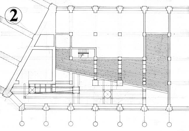 Проект отделения банка «Менотеп» на пл. Ногина, мастерская АСБ Карлсон & К