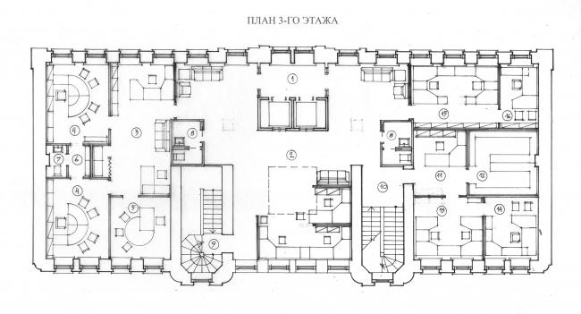Отделение банка «Менатеп» на ул. Осипенко, мастерская АСБ Карлсон & К