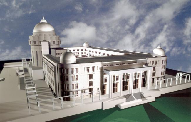 Министерство иностранных дел республики Казахстан © Архитектурная мастерская «АСБ Карлсон & К»