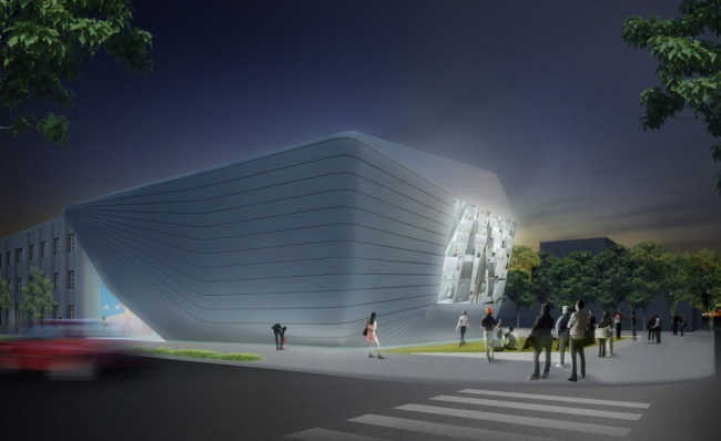 Музей искусств Беркли и Киноархив Пэсифик © Diller Scofidio + Renfro
