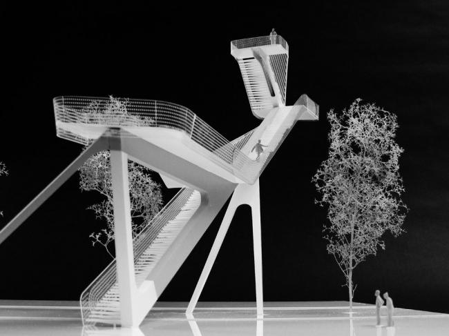 Смотровая вышка в заповеднике «Де Онланден» © UNStudio