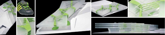 Здание adidas LACES © kadawittfeldarchitektur