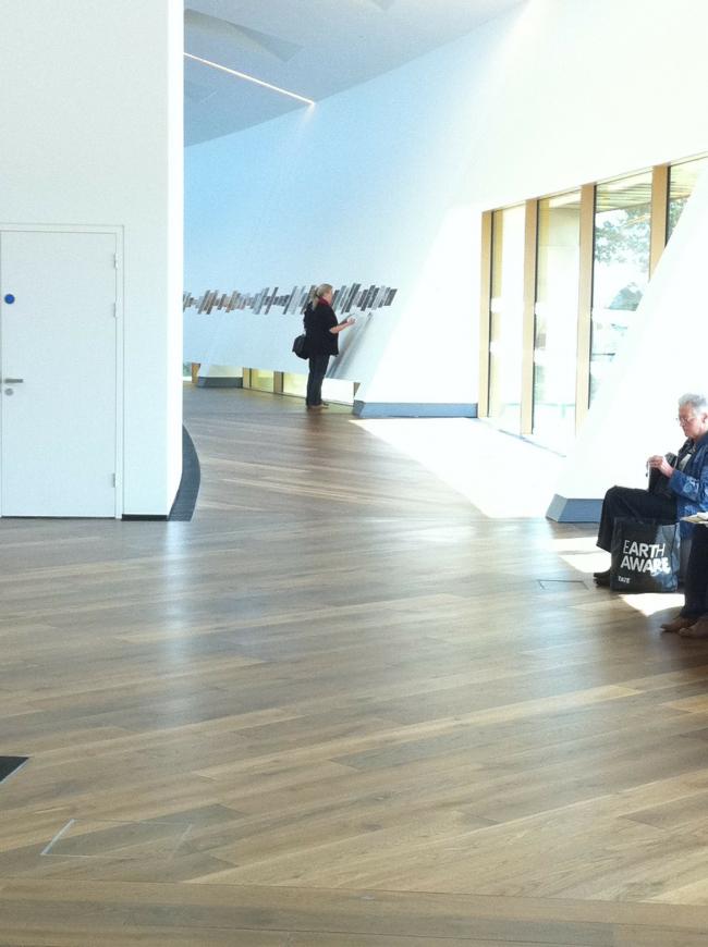 Центр изобразительных искусств firstsite. Фото с сайта worldarchitecturenews.com