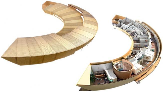 Центр изобразительных искусств firstsite © Rafael Viñoly Architects