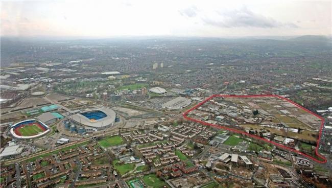 Футбольная академия Манчестер Сити . фото с сайта http://www.manchesterconfidential.co.uk/