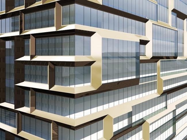 Многофункциональный комплекс с апартаментами