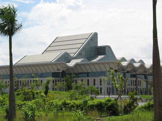 Государственный конференц-центр. Фото: Ngokhong via Wikimedia Commons. Лицензия CC BY-SA 3.0