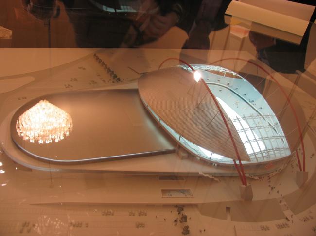 Проект стадиона «Спартак»