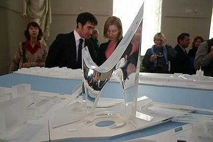 Конкурс на небоскреб «Газпром-сити». Проект Даниэля Либескинда